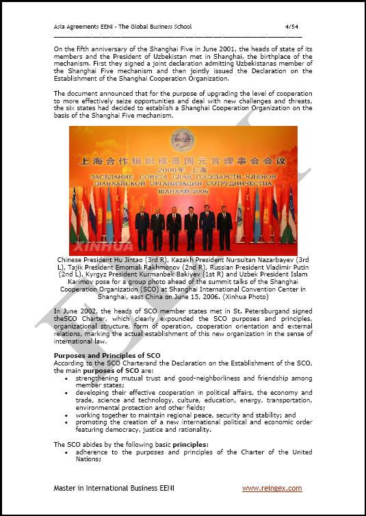 Organisasi Kerjasama Shanghai. Cina Federasi Rusia